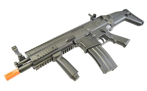 Airsoft Gun Jenis Fn fn herstal scar l powered airsoft gun black assault rifle 400 fps 350 rd ebay