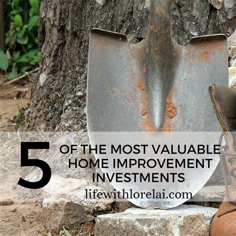 5 most valuable home improvement investments with