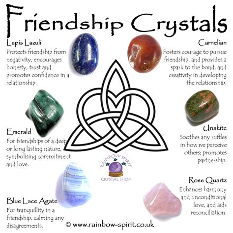crystal properties our crystal healing poster with a selection of crystals