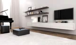floating entertainment unit interior tv combination