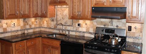 tumbled marble backsplash new jersey custom tile kitchen backsplash new jersey custom tile