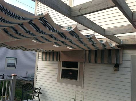 homemade deck awning shade awning for deck outdoor ideas awesome shade awnings