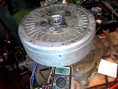 running a car alternator as a bldc electric motor with