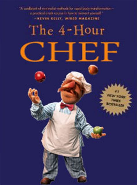 the 4 hour chef the 0547884591 the 4 hour chef due out in april 2012 finding my fitness