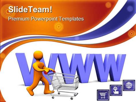 www shopping sales powerpoint templates and powerpoint