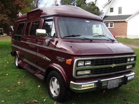 automotive air conditioning repair 1995 chevrolet sportvan g20 electronic valve timing find used 1995 chevrolet g20 handicap chair lift van no reserve in wharton new jersey