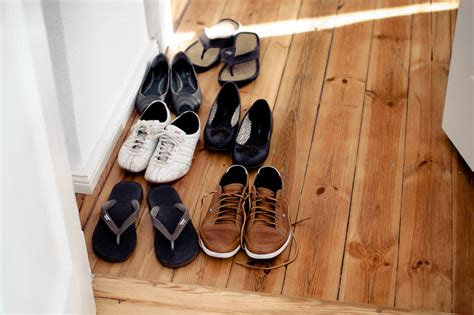 Taking Shoes Off In House Etiquette | burning question is it worth enforcing a shoe free home