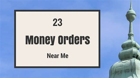 can i make a money order with a debit card where can i get a money order 23 money orders near me