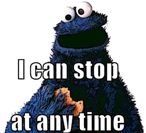 Monster Meme - feeling meme ish sesame street cookie monster edition