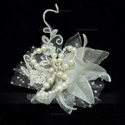 Ban Luar Ring 6 Uk 13 5 00 6 beautiful artificial silk tulle flowers feathers with