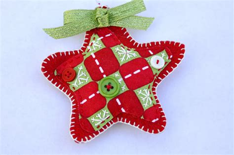 dual perspicacity felt christmas ornaments