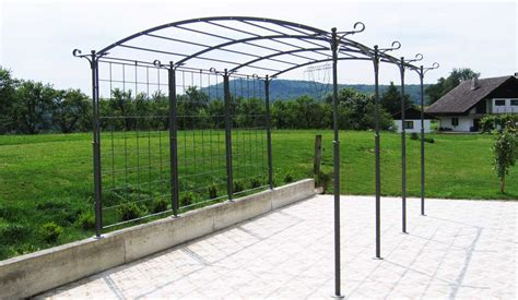 The Wrought Iron Pergola For An Exciting And Wonderful Wrought Iron Pergola Kits