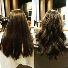 parial perm how to body wave perm before and after pictures google search