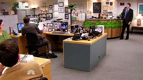 The Office Desk Episode Dwight S Megadesk Image Commissar Delta Mod Db