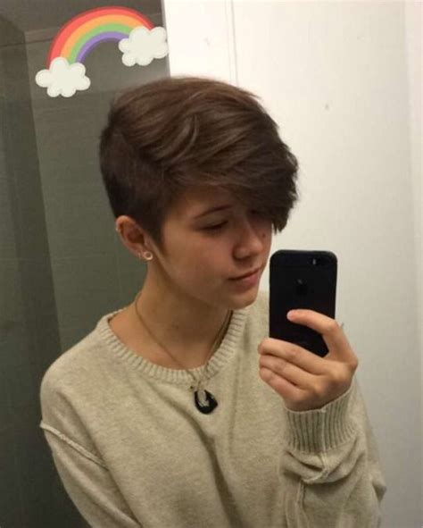 father oif teenager cut hair to look like george jefferson 25 best ideas about lesbian hair on pinterest