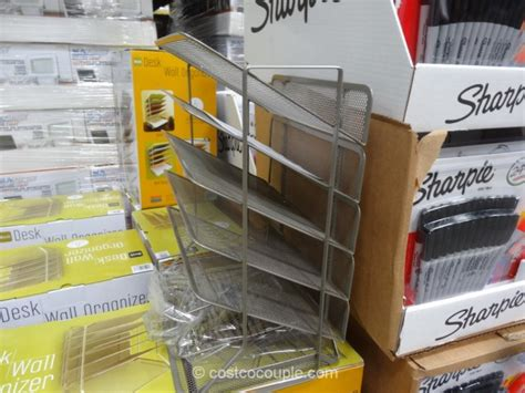 Costco Desk Organizer Seville Mesh Desk Organizer Costco Desk Organizer