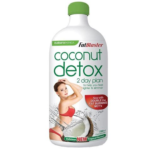 2 Day Detox Price by Fatblaster Coconut Detox 750ml Chempro Chemist