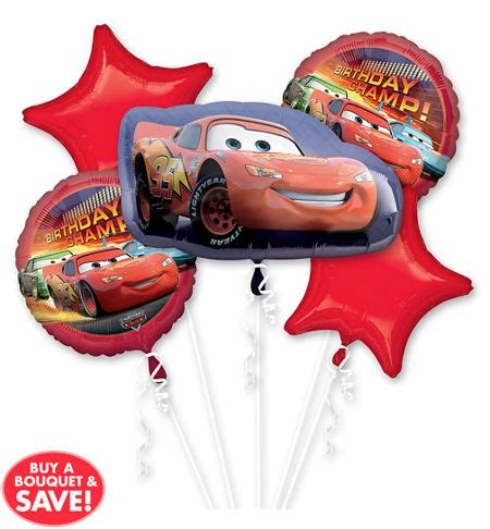 Balon Happy Birthday Car happy birthday cars balloon bouquet 5pc from category
