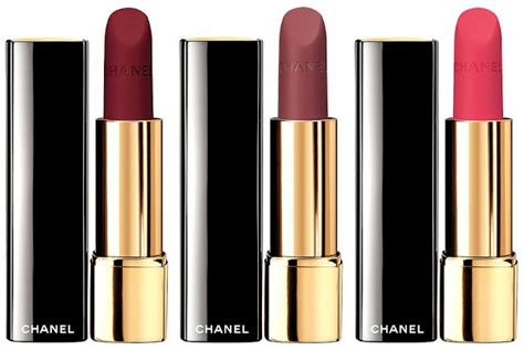 Soft Inspire Slim Matte Silky chanel 2015 collection news beautyalmanac