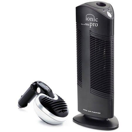 ionic pro combo air purifier with bonus car air purifier 90ip1rcmb1 walmart