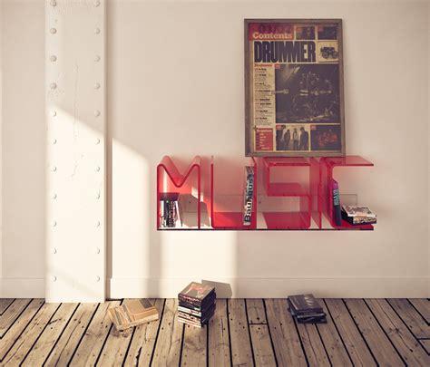 unique letter shelves home designing