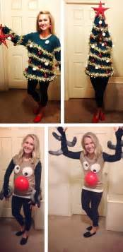 homemade ugly christmas sweater christmas sweaters and