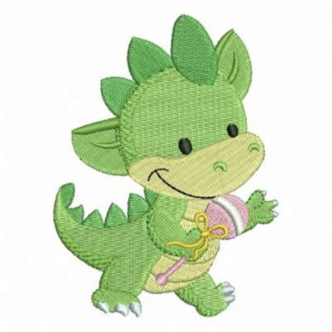 embroidery design dinosaur green baby dinosaur embroidery designs machine embroidery
