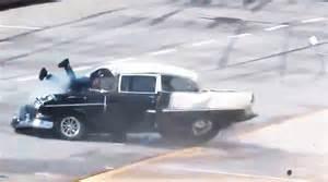 drag race crash 1955 chevy   lucky man   youtube