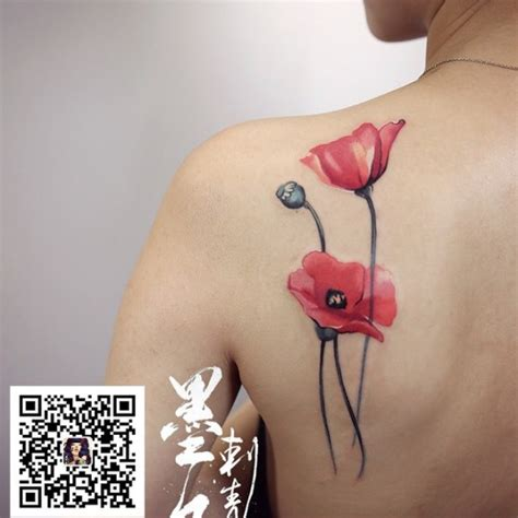 45 awesome poppy tattoos