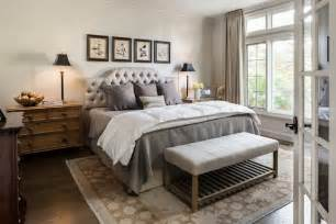 Delightful Neutral Color Living Room Designs #7: Baroque-Grey-Bedding-mode-Other-Metro-Traditional-Bedroom-Decoration-ideas-with-beige-curtains-beige-floral-area-rug-end-of-bed-bench-Framed-Artwork-gallery-wall.jpg