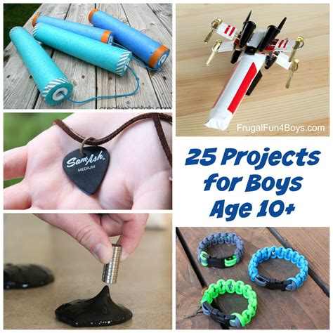 diy projects for boys 25 awesome projects for tween and boys ages 10 and