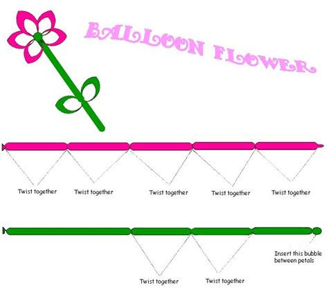 printable directions on how to make balloon animals 53 best ballons images on pinterest balloon decorations