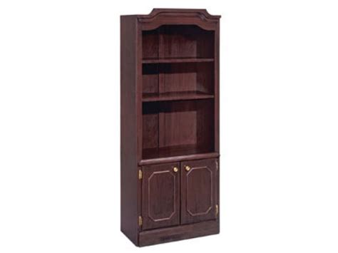 Governors Bookcase With Doors 30 Quot Wx74 Quot H Office Bookcases Office Bookcase With Doors