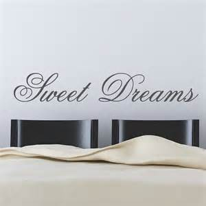 sweet dreams wall stickers by parkins interiors sweet dreams children s bedroom nursery wall sticker