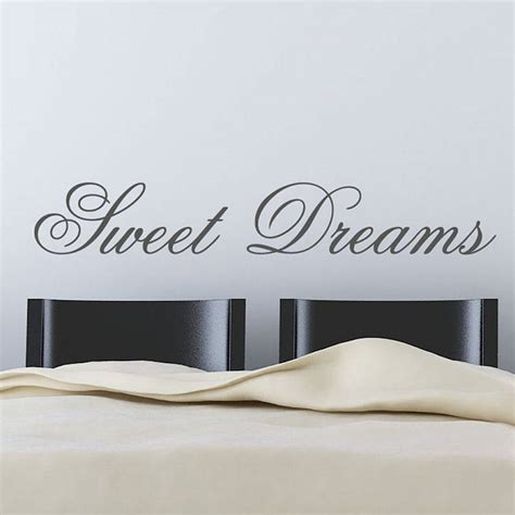 Sweet Dreams Wall Stickers sweet dreams wall stickers by parkins interiors