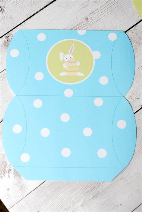 templates for easter boxes free printable easter pillow boxes template
