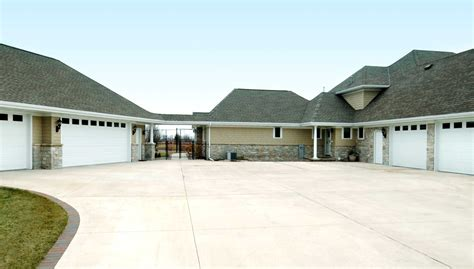 houses with big garages full octane homes homes for car guys gals