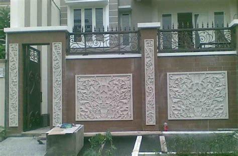 Diskon Sisir Kayu Cantik Simple model pagar tembok 15 gambar modelnya