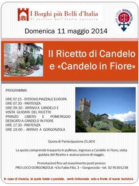 candelo eventi candelo in fiore pro loco gorgonzola