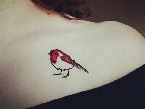 small robin tattoo robin tattooed on my dear robin robins