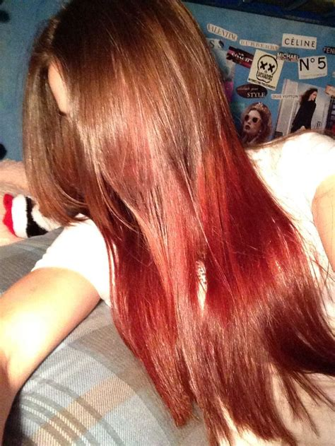 pictures of dirty blonde hair with ombre dirty blonde to red brown ombre hair makeup pinterest