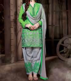 punjabi party wear salwar kameez 2017 suit neck designs