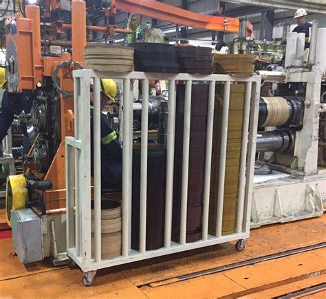 rubber st rack rubber ring cart vest fabrication certified welding llc