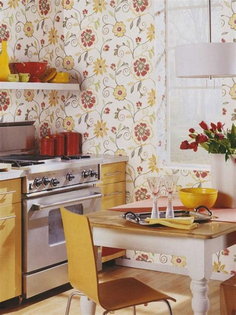 http rilane com kitchen 15 15 charminng kitchens with floral wallpaper rilane