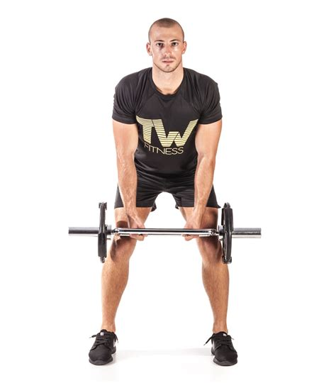 Barbell Fitness bent barbell row total workout fitness