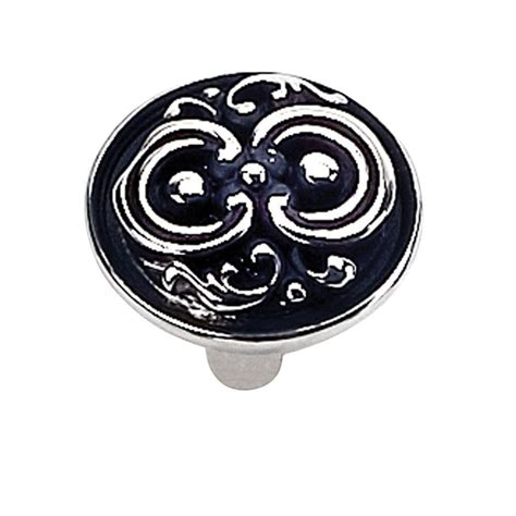 tumbled pewter cabinet pulls giagni 1 1 4 in tumbled pewter round cabinet knob kb 6br