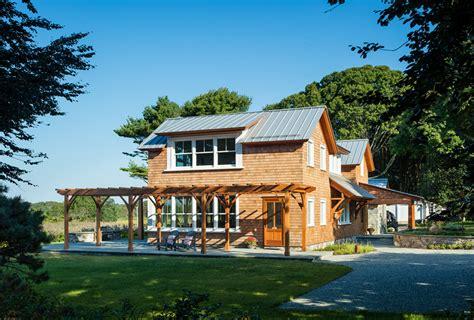 coastal new england harbor house custom home magazine michael mckinley and associates coastal home architects