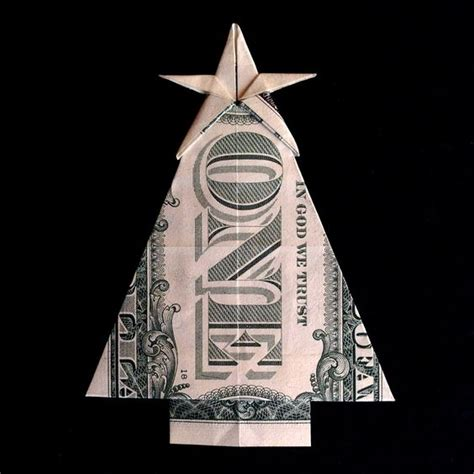 Origami Made Out Of Money - tree with gift money origami made out of