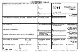 Irs 1099 Misc Template by Complete Guide To Taxes For The Self Employed Complete