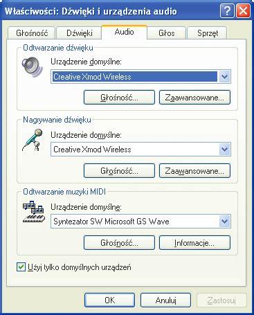 format audio nie jest obslugiwany multimedia na falach foto audio wideo pc format